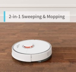Roborock S5 Max, best robot vacuum and Mop, ia 2-in-1: Sweeping & Mopping