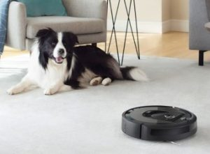 Roomba e series are great for home with pets