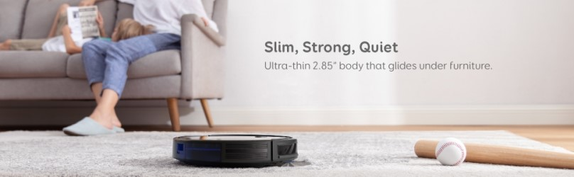 eufy BoostIQ RoboVac 11S MAX is slim, strong and quiet