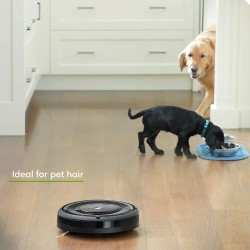 The Roomba e5 is ideal for pets